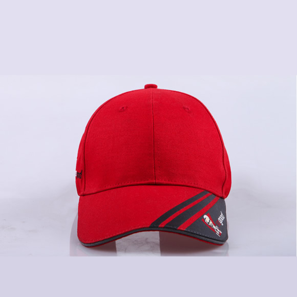 KFC Uniform Baseball caps with logo embroidery Customized design