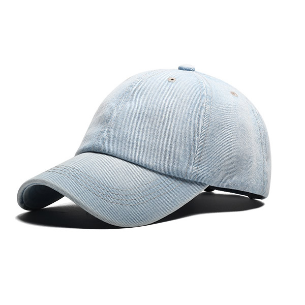 Design Your Own Hat Denim 6 Panel Embroidery Flexfit Hats Baseball Cap