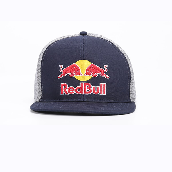 Design Your Own Hat Logo Embroidered Mash Baseball Cap Red Bull 2d9de0420c0
